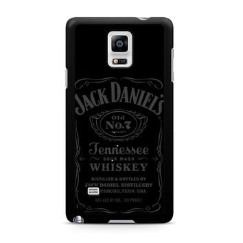 Jack Daniels Tennessee Whiskey Grey Note 4 Case