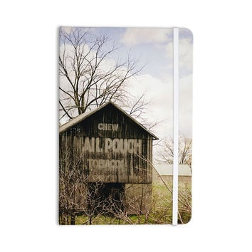 "Angie Turner ""Mail Pouch Barn"" Wooden House Everything Notebook"