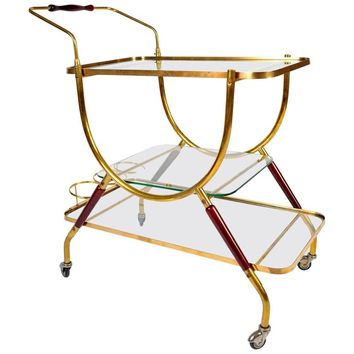 French 1950s Bar Cart