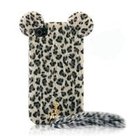 Fun Leopard Print iPhone 4/4s Cases with Panther Tail by Julyjoy