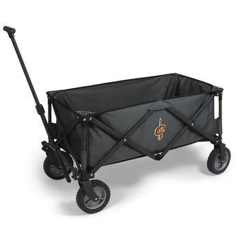 Cleveland Cavaliers - 'Adventure Wagon' Folding Utility Wagon by Picnic Time (Dark Grey)