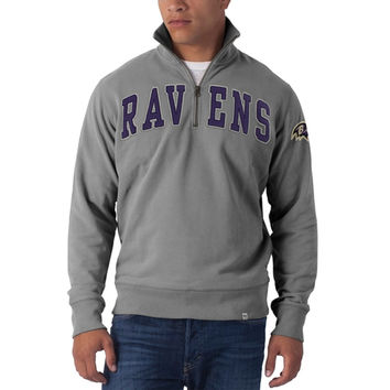 Baltimore Ravens - Striker 1/4 Zip Premium Sweatshirt