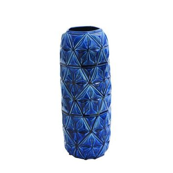 Astounding Ceramic Blue Vase