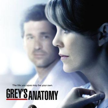 Greys Anatomy Poster Standup 4inx6in