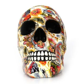 Art Of The Human Skull. Printed Human for Gift or Unique Home Decor