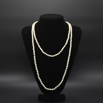 Long  Pearl Necklace for Women