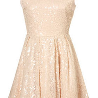 Allover Sequin Prom Dress - Dresses - Apparel - Topshop USA