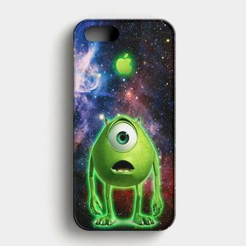 Monster Inc Mike Glowing Alien iPhone SE Case