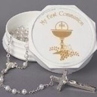 12 Rosaries With Boxes - First Communion