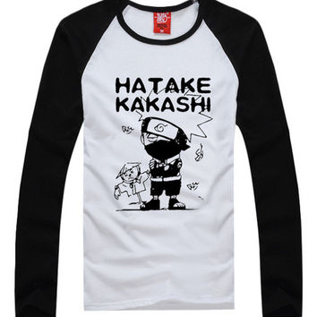 Great Naruto Uzumaki Naruto Anime Raglan T-Shirt
