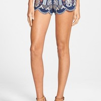 Women's J.O.A. Embroidered Shorts,
