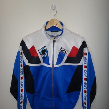 New Year Sale Vintage U.C. Sampdoria 1994 Sweater Large Vintage Asics Soccer Jacket Trainer Football Medium