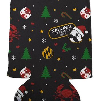 *PRE-ORDER* Natty Boh Christmas (Black) / Koozie (Estimated Arrival Date: 12/1)