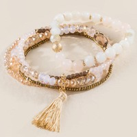Margaret Beaded Bracelet Set
