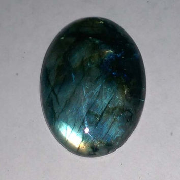 Natural labradorite Smooth Oval Cabochon 37x26x8 MM Size, Loose Gemstone Beads fire labradorite gemstone