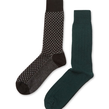 Punto Men's Cashmere Blend Socks (2 PK)