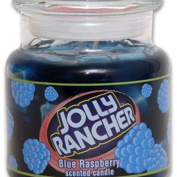 Jolly Rancher by Hanna's Candle 16.75-Ounce Jolly Rancher Blue Raspberry Jar Candle