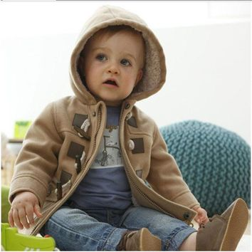 New Fashion baby Boys Jacket&Outwear Warm hooded Winter jackets for boy Girls coat Children Winter Clothing kids Boys Coat
