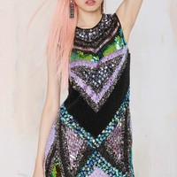Essentiel Before Midnight Sequin Dress