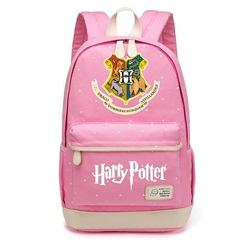 Harry Potter Canvas Bag Flowers Wave Point