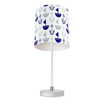 Boat and Anchor Table Lamp