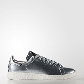 ADIDAS WOMEN'S STAN SMITH BOOST SHOES - SILVER