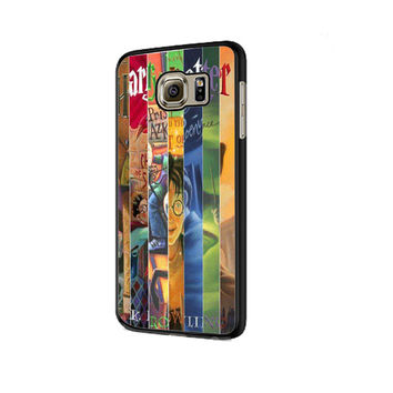 Harry Potter all books Samsung Galaxy S6 | S6 Edge Cover Cases