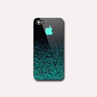 Mint Sparkle EA0111 - Print on hard plastic - iPhone 4/4s - iPhone 5/5s - iPhone 5c