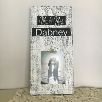 Bridal Shower Gift wedding gift bride to groom gift groom to bride gift wedding sign wedding keepsake mr and mrs bride gift unique couple