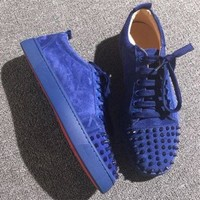 PEAPNW6 Cl Christian Louboutin Low Style #2070 Sneakers Fashion Shoes