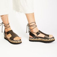 Free People Mursi Wrap Sandal