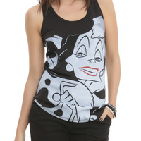 Disney 101 Dalmatians Cruella De Vil Girls Tank Top