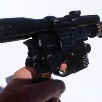 Star Wars Han Solo Lucas Film Costume Gun Custom Painted movie style replica