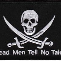 Iron-On Patch - Dead Men Tell No Tales