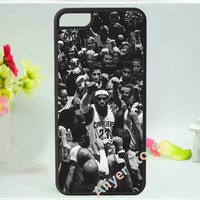 Online Shop Cleveland Cavaliers LeBron James fashion original mobile phone case cover for iphone 4 4s 5 5s 5c 6 & 6 plus|Aliexpress Mobile
