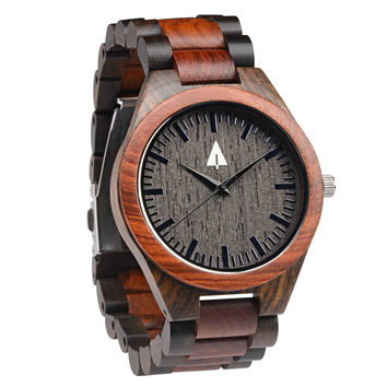 All Wood Watch // Redwood + Ebony 31