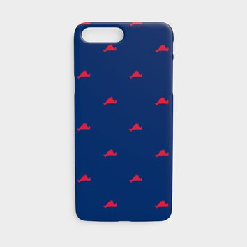 Martha's Vineyard Cell Phone Case iPhone 7 / 8 - Red on Navy