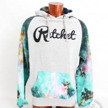 Galaxy Sleeve Hood - Ratchet Clothing