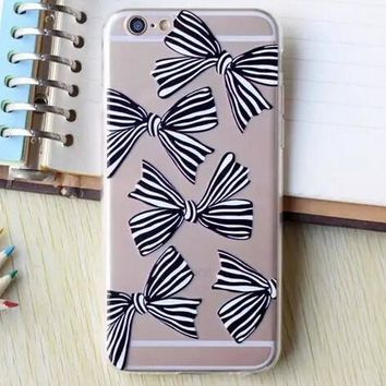 Hollow Out Bow iPhone 5se 5s 6 6s Plus Case Cover + Nice Gift Box 364-170928