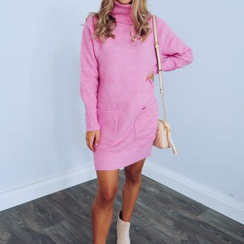 Lovely Day Dress: Baby Pink