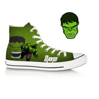 Birthday Custom Avengers Shoes (Hulk)