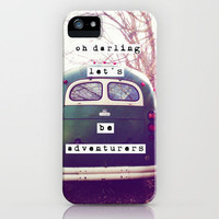 oh darling, let's be adventurers iPhone Case by Beverly LeFevre | Society6