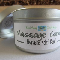 Massage Candle - All Natural Headac.. on Luulla