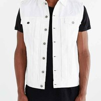 Publish Hale Denim Vest- White