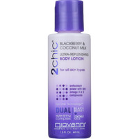 Giovanni Hair Care Products Lotion - 2chic - Ultra-replenishing - Blackberry And Coconut Milk - 1.5 Oz - 1 Each