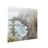 Misty Seascape Canvas Print