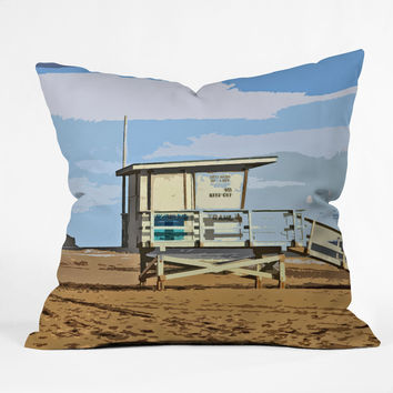 Deb Haugen Big Dune Throw Pillow