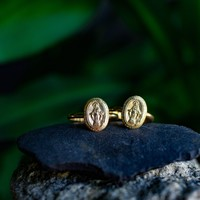 MIRACULOUS MEDAL GOLD RING