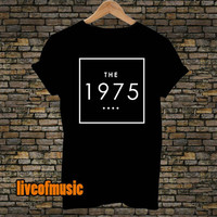 The 1975 Band Tshirt Black and White For Men and Women Unisex Size from liveofmusic