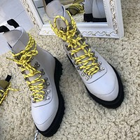 Off White Women Fashion Casual Sneakers Sport Shoes